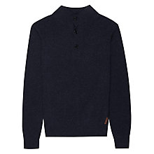 Buy Ben Sherman Mouline Funnel Neck Jumper Online at johnlewis.com