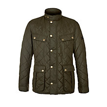 Buy Barbour Sea Ariel Quilted Jacket, Olive Online at johnlewis.com
