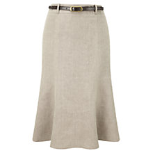 Buy CC Petite Cross Dye Skirt, Stone Online at johnlewis.com
