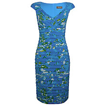 Buy Alexon Printed Shutter Dress, Blue/Green Online at johnlewis.com