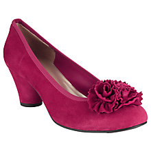 Buy John Lewis Mariette Court Shoes, Fuchsia Online at johnlewis.com