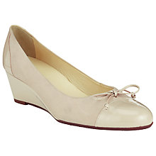 Buy John Lewis Naia Wedged Ballet Style Court Shoes Online at johnlewis.com