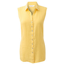 Buy East Linen Shirt, Lemon Online at johnlewis.com
