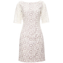 Buy Fenn Wright Manson Felice Dress, Chalk Online at johnlewis.com