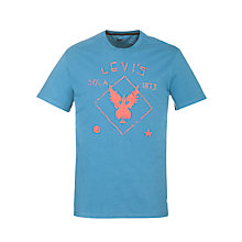 Buy Levi's Wings Print Short Sleeve T-Shirt Online at johnlewis.com