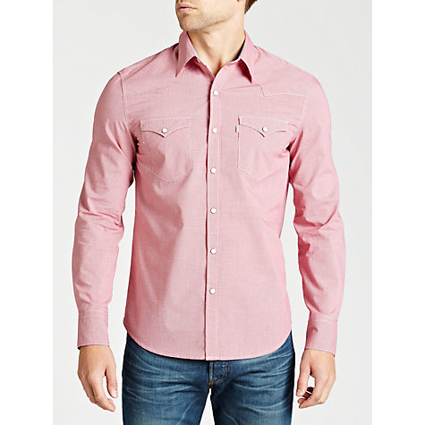 Buy Levi's Barstow Western Slim Fit Shirt Online at johnlewis.com