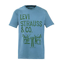 Buy Levi's 2 Horse Print Short Sleeve T-Shirt Online at johnlewis.com