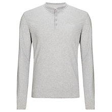 Buy Levi's Slub Long Sleeve Henley Top Online at johnlewis.com