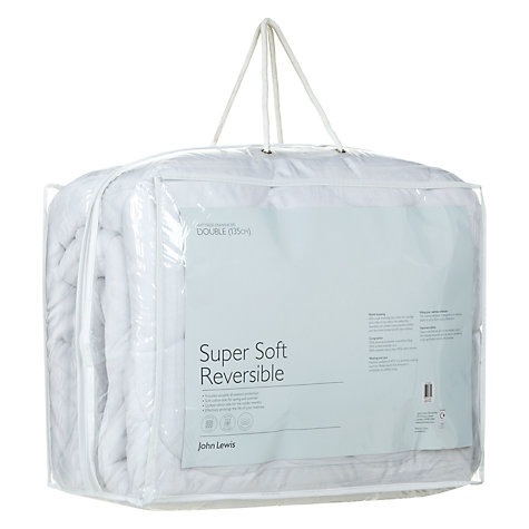 Buy John Lewis New Super Soft Reversible Mattress Enhancer Online at johnlewis.com