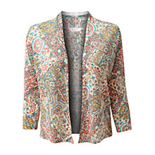 Buy East Soraya Linen Cardigan, Multi Online at johnlewis.com