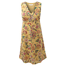 Buy East Neelam Dress, Yellow Online at johnlewis.com