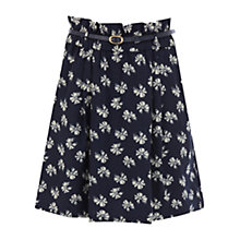 Buy Oasis Bow Print Skirt, Multi Online at johnlewis.com