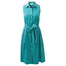 Buy East Vera Dress, Aqua Online at johnlewis.com