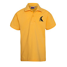 Buy Colfe's School Nursery and Pre Preparatory Unisex Polo Shirt, Amber Online at johnlewis.com