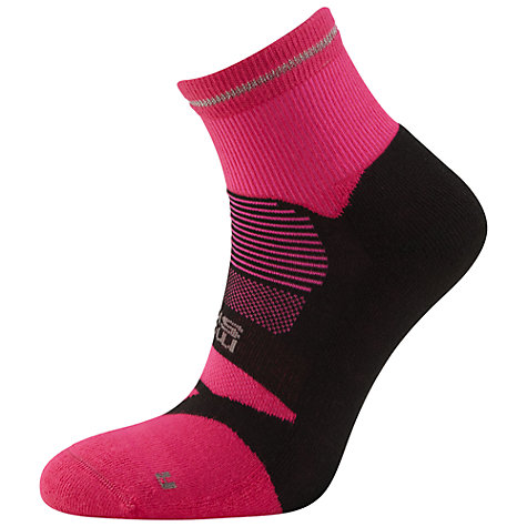Buy Hilly Monoskin Nite Anklet Socks, Pink/Black Online at johnlewis.com