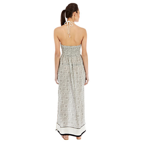 Buy Warehouse Embellished Maxi Dress, White Online at johnlewis.com