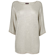 Buy Phase Eight Serena Batwing Jumper, Stone Online at johnlewis.com
