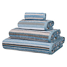 Buy John Lewis Elemental Stripe Towels Online at johnlewis.com