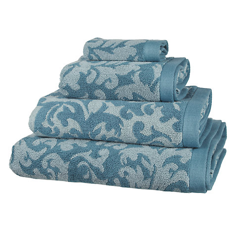 Buy John Lewis Heritage Damask Towels Online at johnlewis.com
