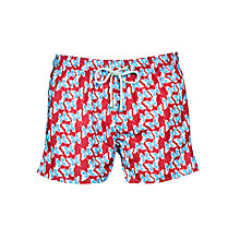 Buy Oiler & Boiler Long Island Butterfly Print Swim Shorts Online at johnlewis.com