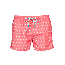 Buy Oiler & Boiler Stars Print Swim Shorts Online at johnlewis.com