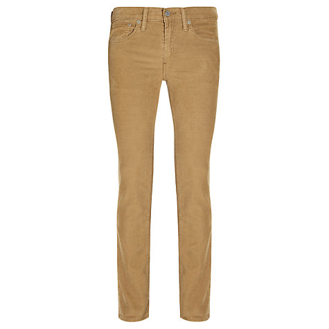 Buy Levi's 511 Cords, Harvest Gold Online at johnlewis.com