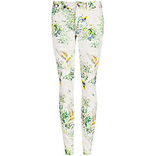 Buy Ted Baker Dancing Leaves Jeans, Jasmine Online at johnlewis.com