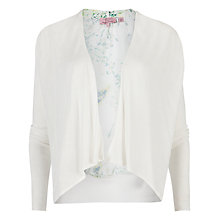 Buy Ted Baker Jaina Dancing Leaves Cardigan, White Online at johnlewis.com