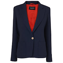 Buy Jaeger Longline Patch Pocket Blazer, Navy Online at johnlewis.com