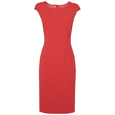 Buy Jaeger Collette Dress, Pink Online at johnlewis.com