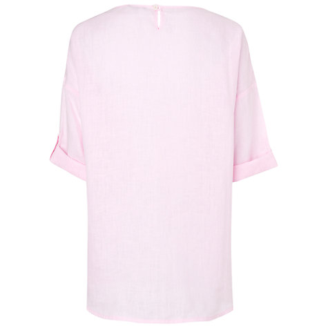 Buy Jaeger Linen Top Online at johnlewis.com