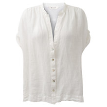 Buy East Oversized Gauze Shirt, White Online at johnlewis.com