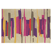 Buy Harlequin  Zeal Rug, Red/ Purple Online at johnlewis.com