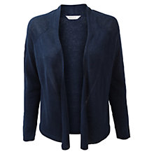 Buy East Lader Stitch Cardigan, Royal Blue Online at johnlewis.com