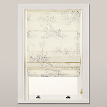 Buy John Lewis Leckford Toile Roman Blind Online at johnlewis.com