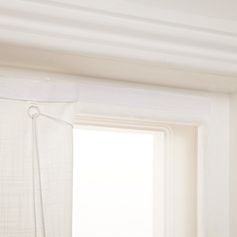 Buy John Lewis Gingko Roman Blinds, Mineral Online at johnlewis.com