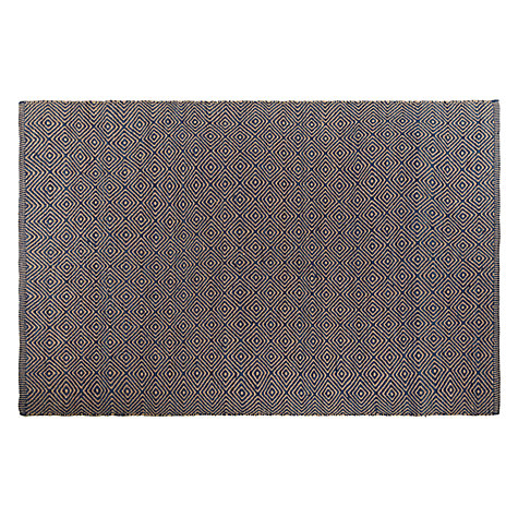 Buy John Lewis Solitaire Rug, Blue Online at johnlewis.com