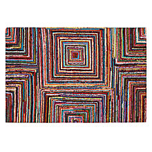 Buy John Lewis Vivid Squares Rug Online at johnlewis.com