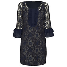 Buy James Lakeland Lace Dress, Navy Online at johnlewis.com