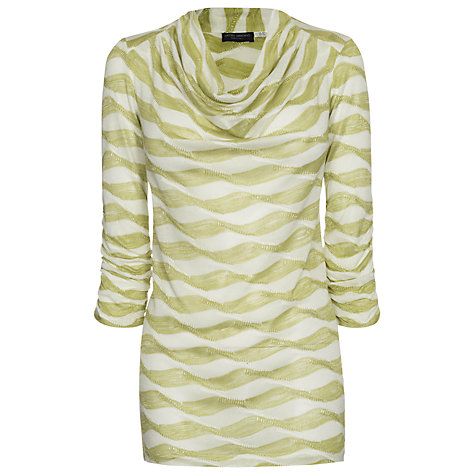 Buy James Lakeland Cowl Neck Ruched Top Online at johnlewis.com
