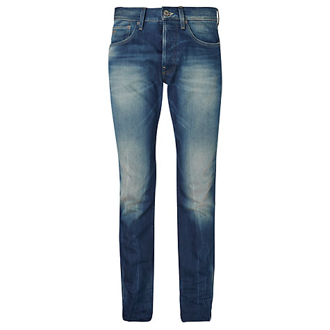 Buy G-Star Raw 3301 Dekay Straight Jeans, Blue Online at johnlewis.com