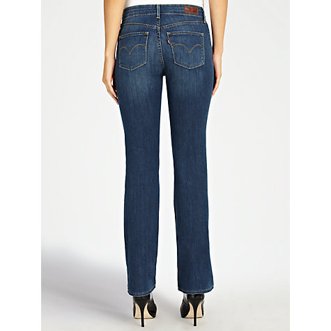 Buy Levi's Curve ID - Slight Curve Straight Leg Jeans, Mystery Light Online at johnlewis.com