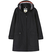 Buy Seasalt Kellifray Waterproof Mac, Black Online at johnlewis.com