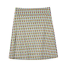Buy Seasalt Skylark Skirt, Ikat Diamond Multi Online at johnlewis.com