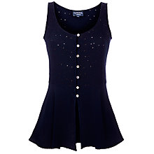 Buy Ghost Susan Top, Indigo Online at johnlewis.com