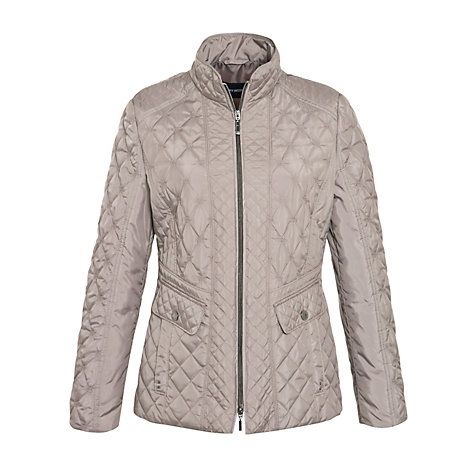 Buy Gerry Weber Short Diamond Quilted Jacket Online at johnlewis.com