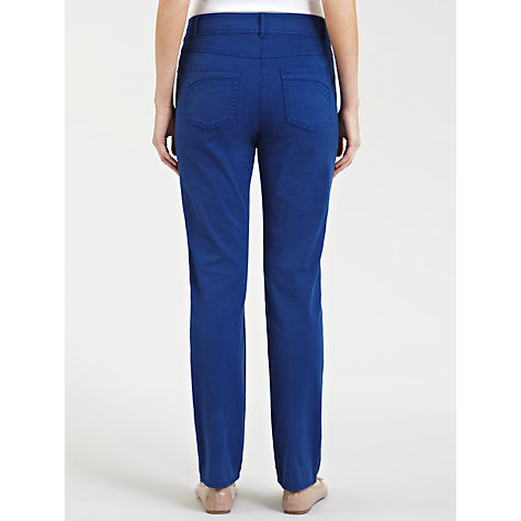 Buy Gerry Weber Straight Leg Jeans, Royal Blue Online at johnlewis.com