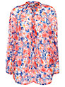 Buy Ghost Myla Tunic Top, Pansy Print, XS Online at johnlewis.com