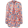 Buy Ghost Myla Tunic Top, Pansy Print Online at johnlewis.com