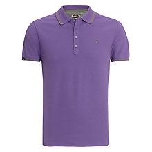 Buy Diesel Tipped Short Sleeve Polo Shirt Online at johnlewis.com